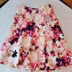 Lane Bryant Women's Plus Size Floral Skirt